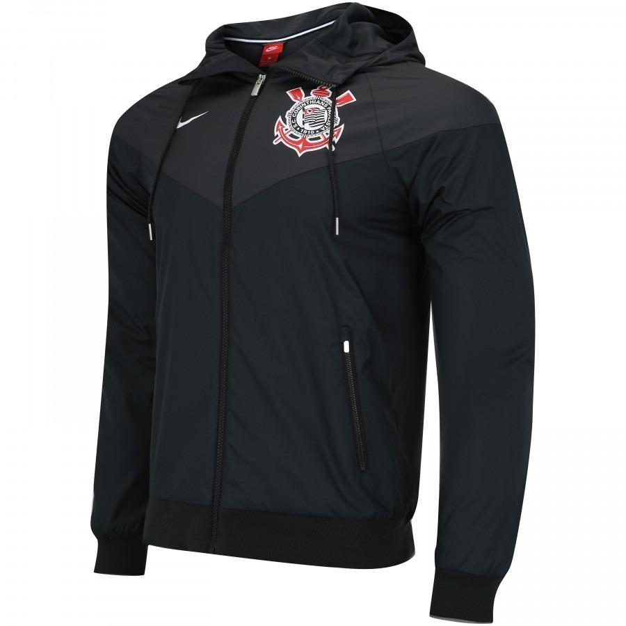 c129205796ef1 jaqueta corta vento nike sportswear corinthians authentic. Carregando zoom.