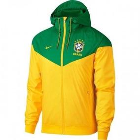 486338bb093 Jaqueta Nike Seleção Amarela no Mercado Livre Brasil