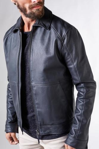 jaqueta couro aviador reserva