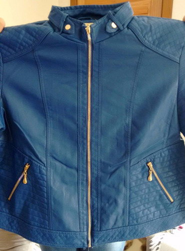 jaqueta couro ecologico feminina, p, m, g, blusa aquecida