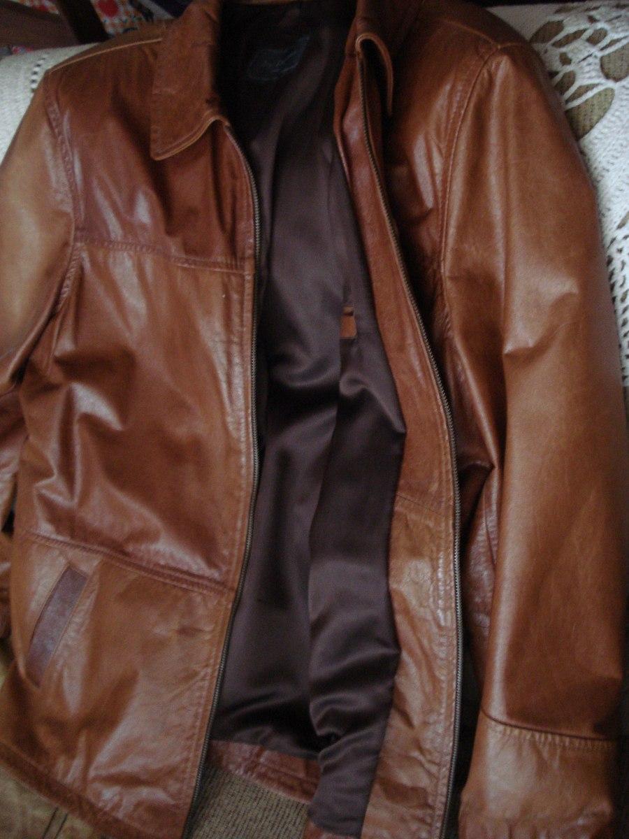 jaqueta couro legitimo com ombreira excelente estado. Carregando zoom. c72e466cd1bfe