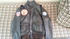 632fd1f11 Jaqueta Couro Top Gun Avirex Original Masculinos - Casacos com o ...