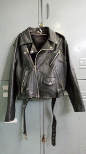 jaqueta couro natural tam. medio