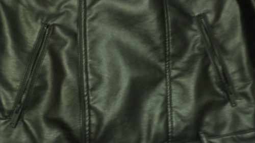 jaqueta couro sintético pu perfecto dark