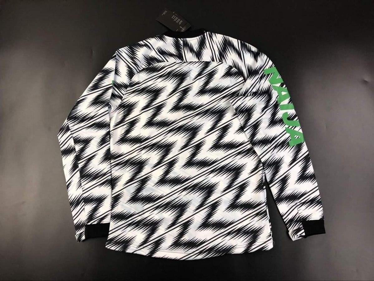 jaqueta da seleção da nigéria 2018 pronta entrega promoção. Carregando zoom. 050bc6b1beebc