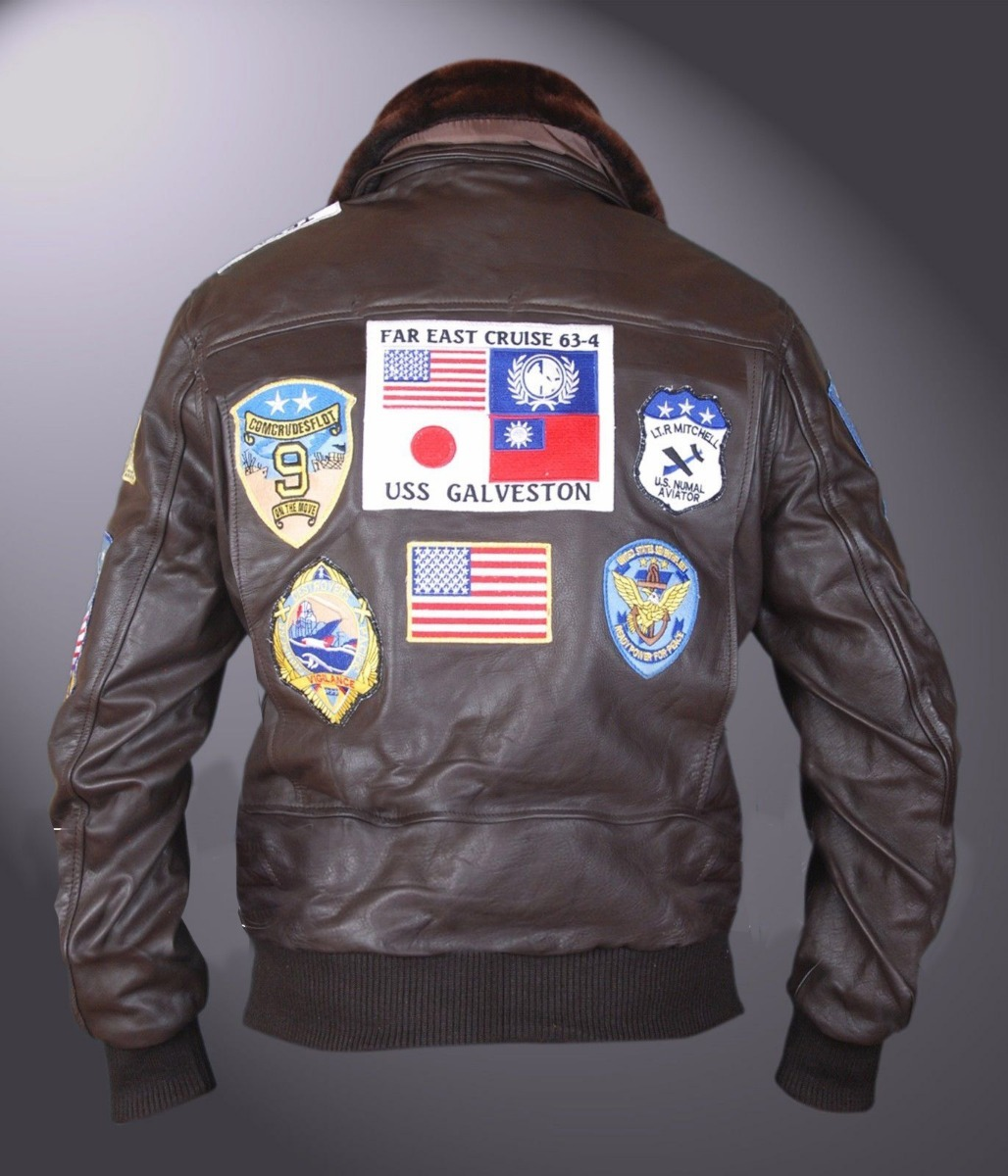 e463b536b jaqueta de 100% couro top gun ases indomáveis frete gratis. Carregando zoom.