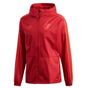 14a307d4056 Jaqueta De Chuva adidas Flamengo Masculina - Vermelho