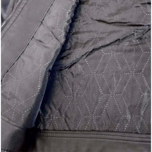 jaqueta de couro ecológico masculina gola j61a