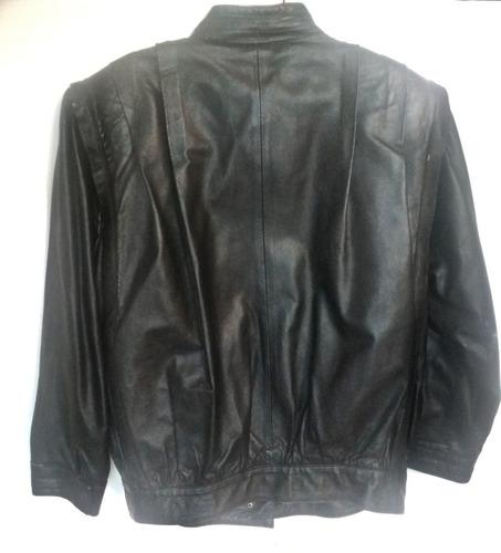 jaqueta de couro legítima argentina