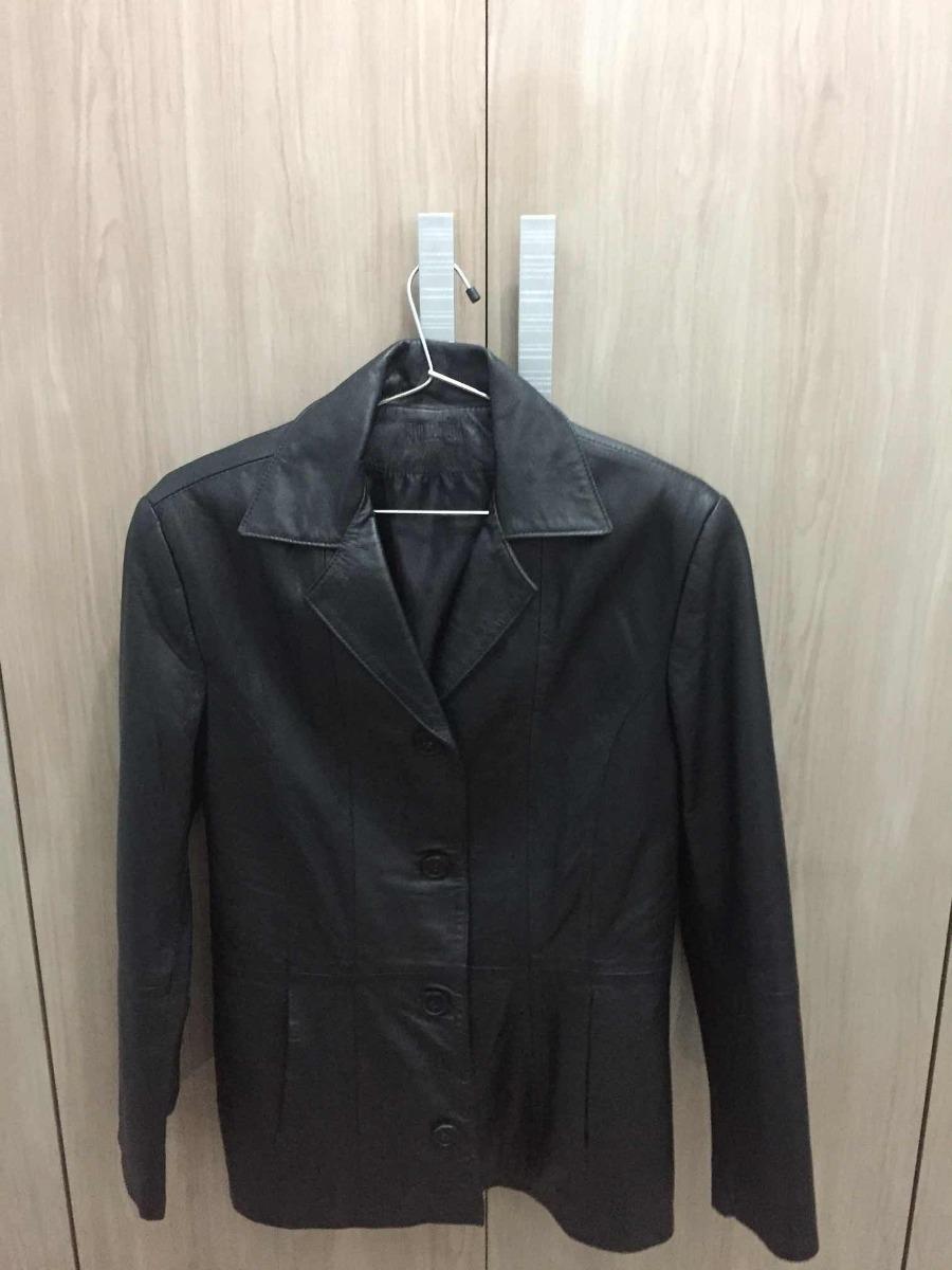82ac00644b7 jaqueta de couro legítimo feminina julian marcuir. Carregando zoom.