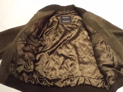 jaqueta de couro legitimo unissex marca cameron importada m