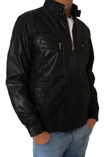 jaqueta de couro masculina ecológico importada
