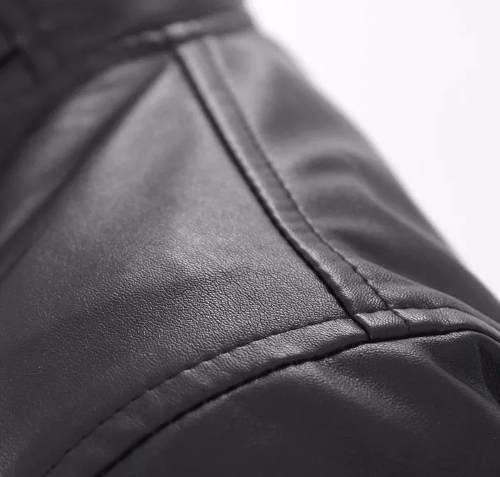 jaqueta de couro masculina importada pronta entrega