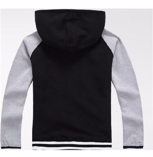 jaqueta de moletom com capuz
