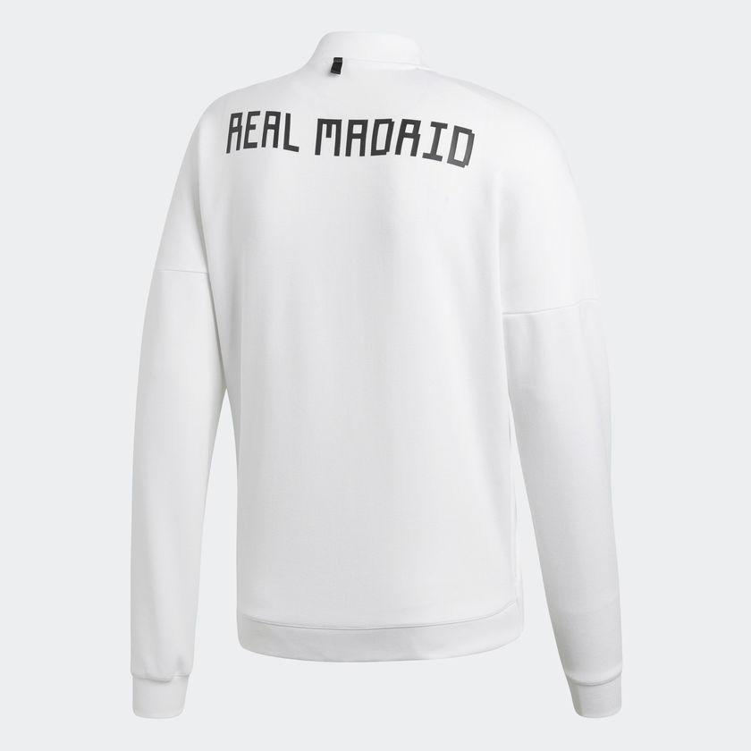 jaqueta branca esportiva adidas zne rea madrid r 369 542073a07acc03 ... 46482b9d81f1a