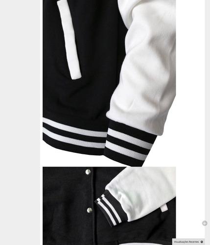 jaqueta estilo harley davidson , skull em algodão