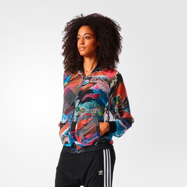 e83fe84fa Jaqueta Feminina adidas Originals Estampada - Netfut - R$ 319,90 em ...