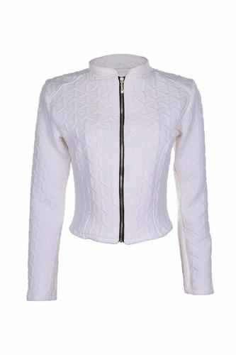 jaqueta feminina bomber jacquard matelasse roupas femininas
