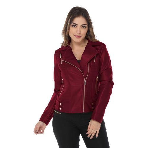jaqueta feminina couro ecológico frio inverno moda blogueira