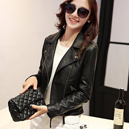 jaqueta feminina de couro grife inverse pronta entrega ;)