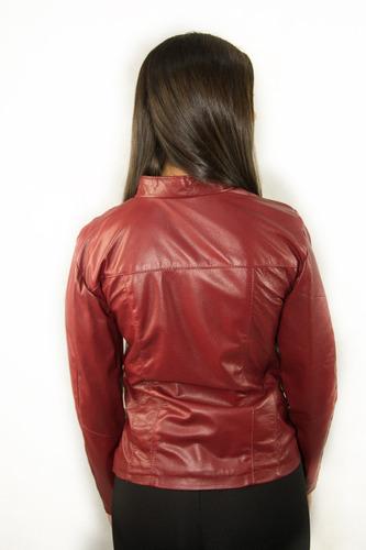 jaqueta feminina de couro legítimo original fazemos sob medi