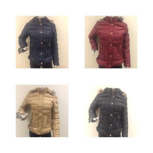 jaqueta feminina nylon com capuz