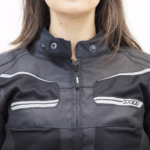 jaqueta feminina x11 breeze 100% impermeavel motoqueiro moto