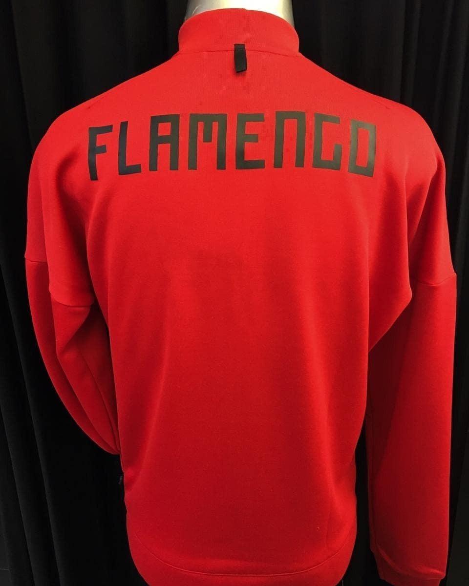 518208617d4 jaqueta flamengo adidas z.n.e. crf jkt kn original cy6103. Carregando zoom.
