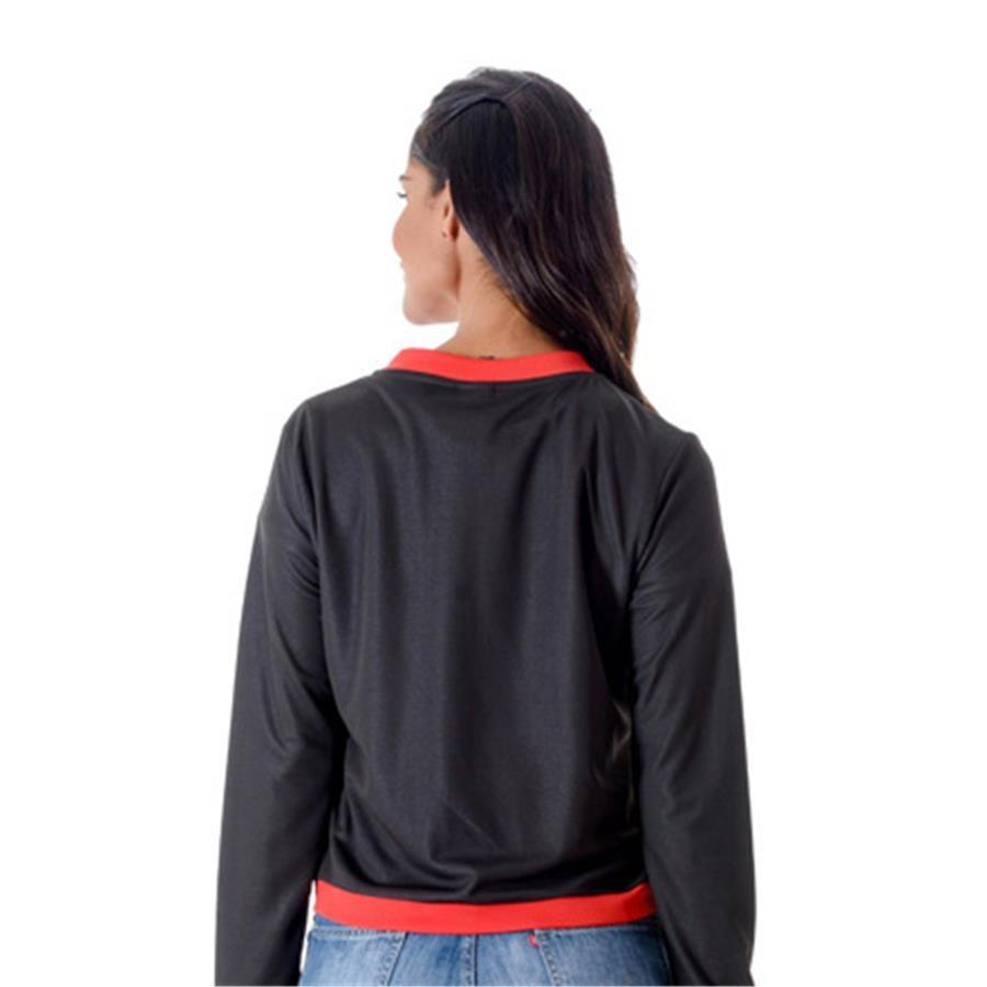 jaqueta flamengo bomber feminina. Carregando zoom. 40a791c05b3af