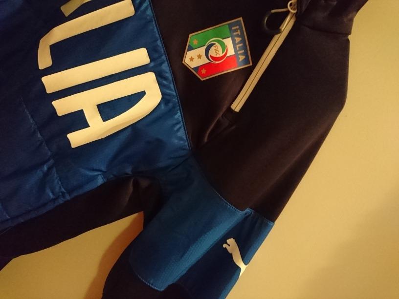 jaqueta frio selecao italia puma warm treino inverno buffon. Carregando  zoom. 0ec7738972b6f