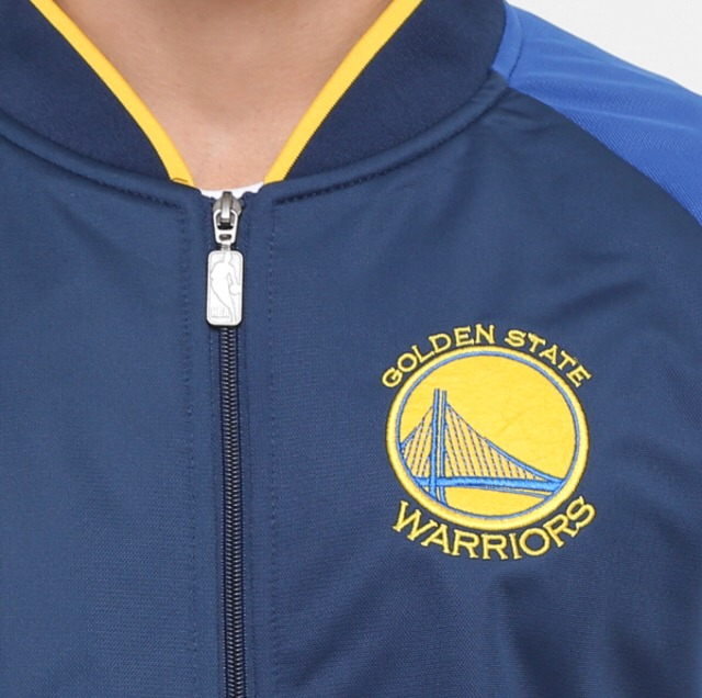 4b6bd23c4 Jaqueta Golden States Warriors Nba - Original - R  178
