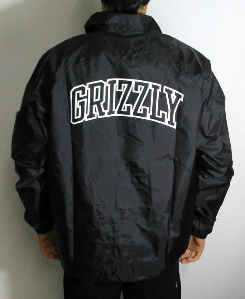c4b1a288a jaqueta grizzly quebra ventotop team coach preta - m - preta. Carregando  zoom.
