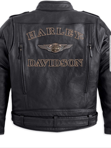 jaqueta harley davidson couro skull sob medida personalizada
