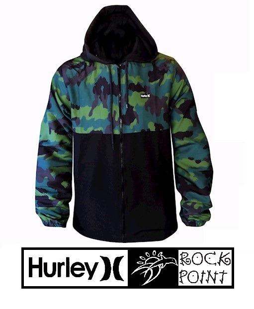 Jaqueta Hurley Quebra Vento Windbreacker - R  449 30dafffa6c1