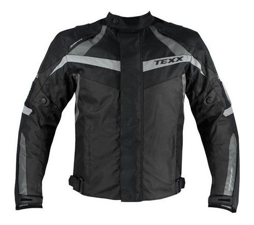 jaqueta impermeável texx new falcon preto com cinza m