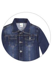 fc9994fb291 Jaqueta Jeans Moletom - Casacos para Meninos no Mercado Livre Brasil