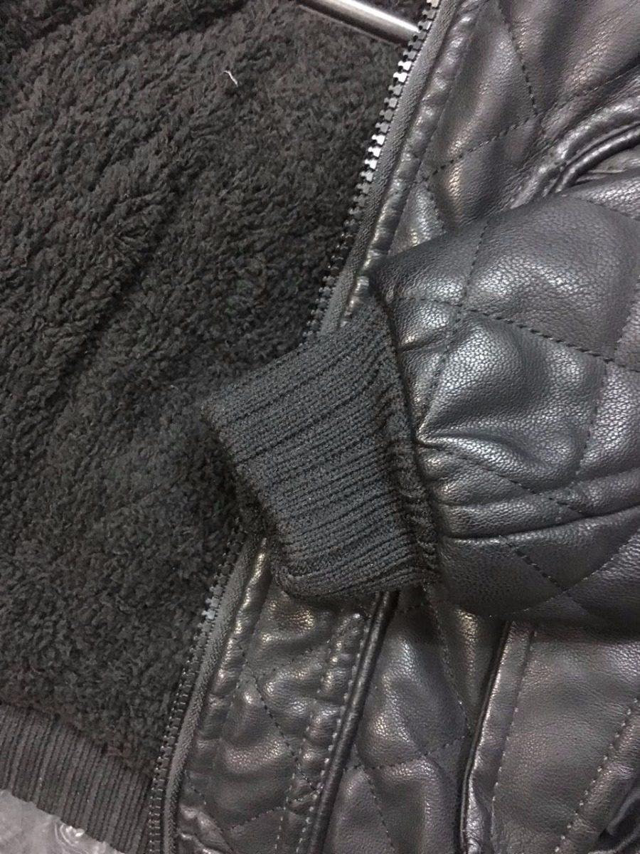 jaqueta infanto juvenil couro ecológico forrada com capuz mo. Carregando  zoom. 6116e1e10c9