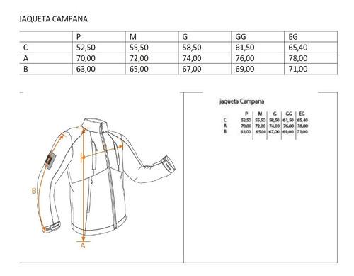 jaqueta invictus campana verde tática c/nota fiscal