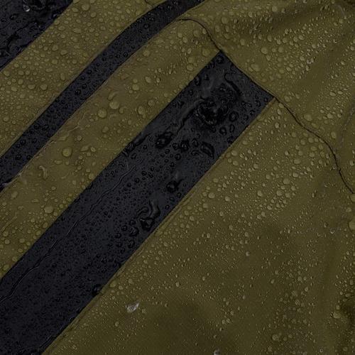 jaqueta invictus rain verde impermeável tática c/nota