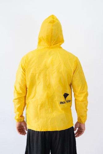 jaqueta ironarm raincoat amarela  tam gg sauna suit