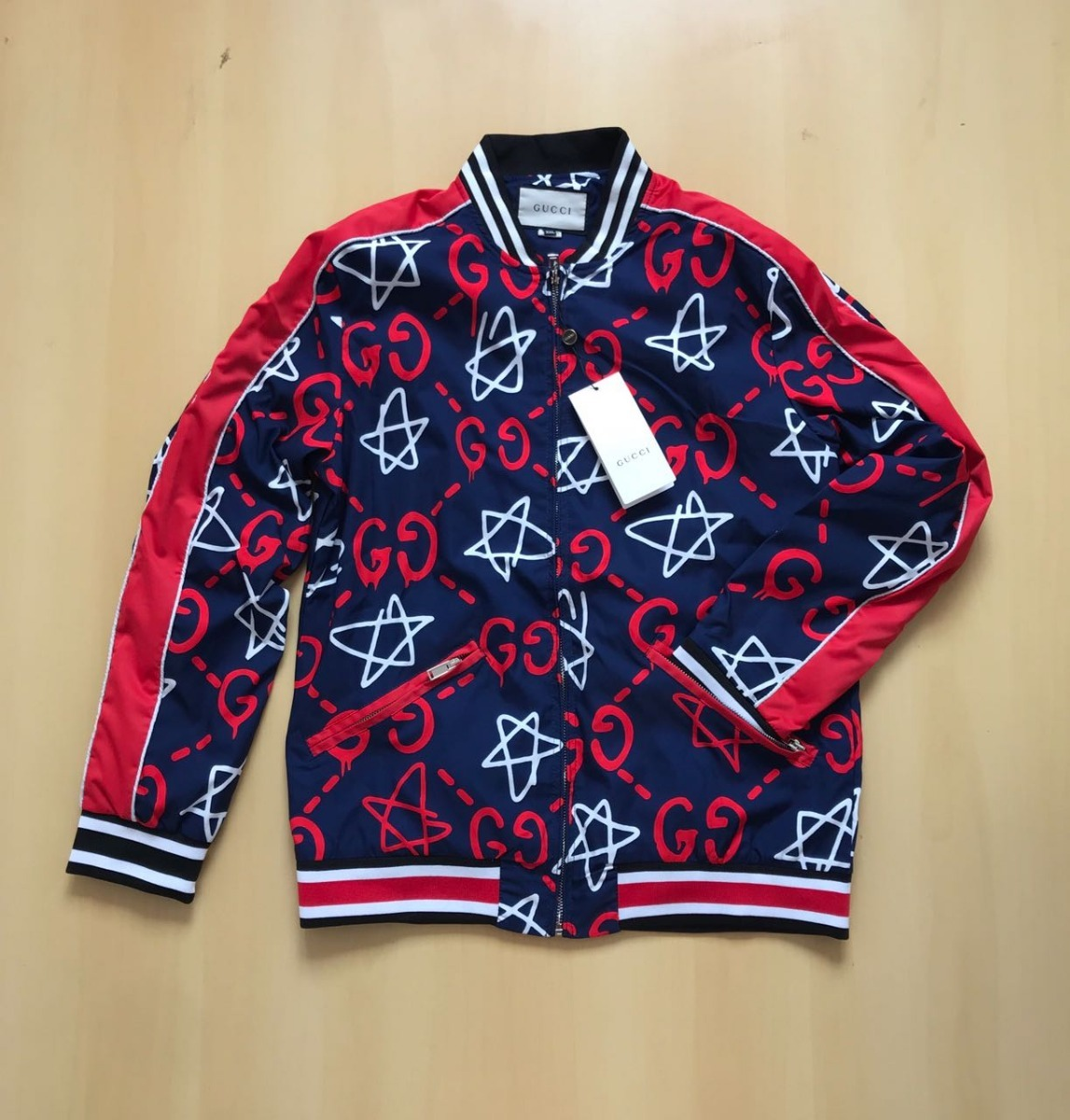 5c80b25e4f Jaqueta Jaco Blusa Gucci Original Importada Frete Gratis! - R$ 375 ...