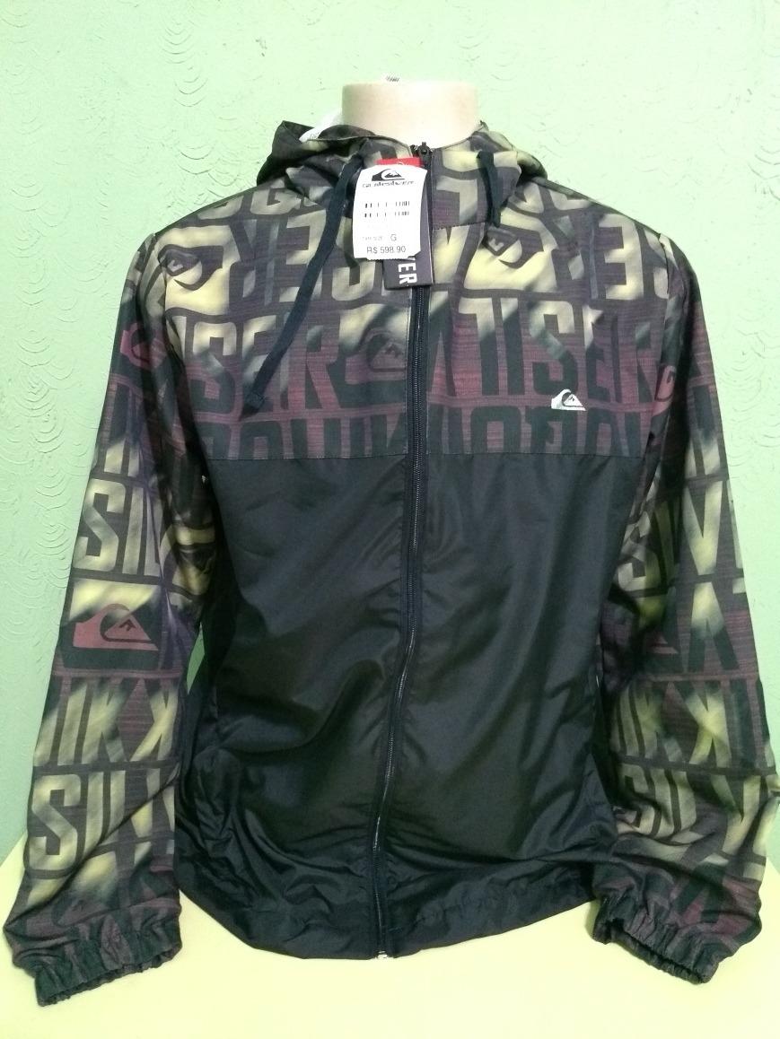 138632495546b jaqueta jaco blusa quiksilver corta vento. Carregando zoom.