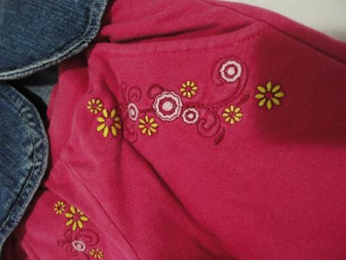 jaqueta jeans e cãlça bailarina de moleton
