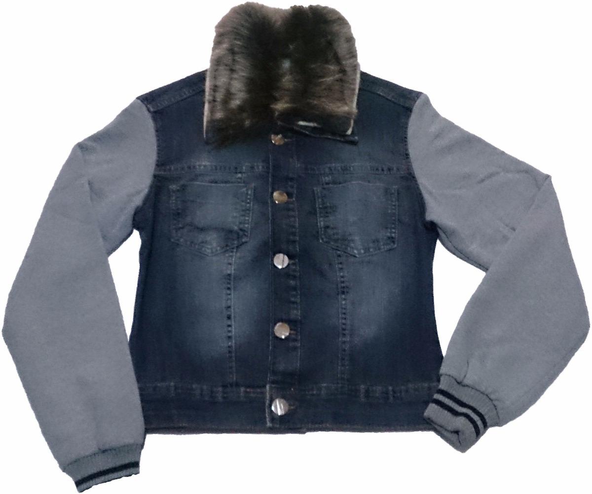 863732c4d jaqueta jeans feminina manga de moletom. Carregando zoom.