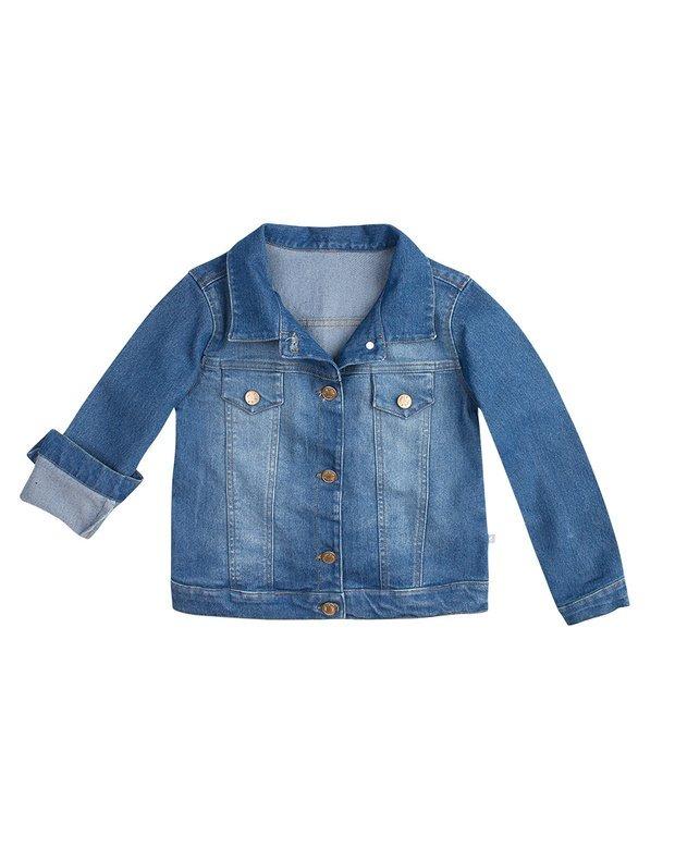 e63e172d12 Jaqueta Jeans Infantil Feminina Hering Kids C82plusej - R  136