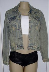 c8a64ad3c8 Jaqueta Jeans Com Strech