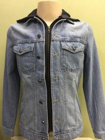 c97fc452e Jaqueta Jeans Moletom Hering Feminina - Calçados, Roupas e Bolsas no  Mercado Livre Brasil