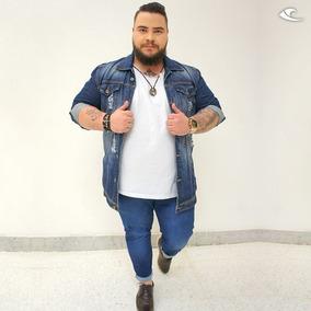 faf8c6f74 Jaqueta Jeans Plus Size Masculino - Calçados, Roupas e Bolsas no ...