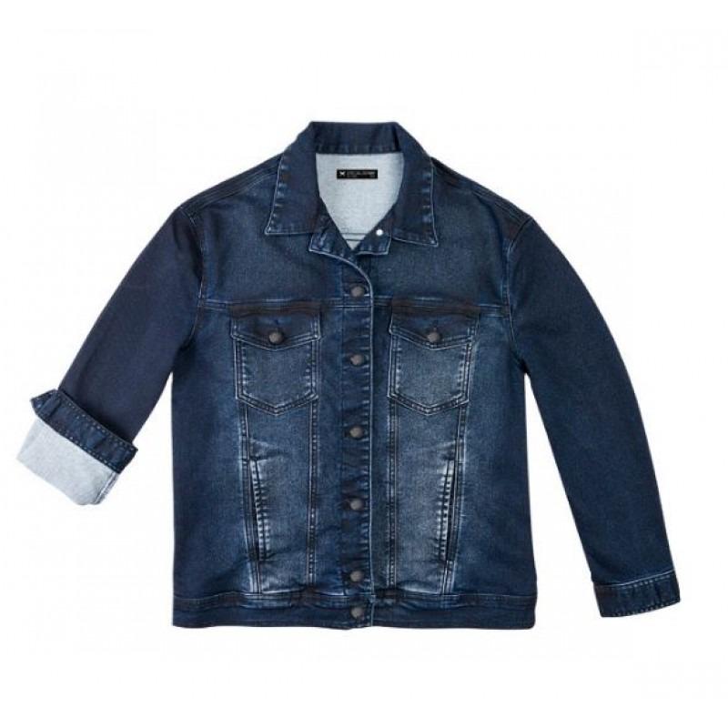 08c0eee1d38dd Jaqueta Jeans Moletom Masculina Slim H31gj - Jeans - R$ 276,42 em ...