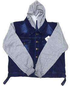 7928675d58 Jaqueta Jeans Plus Size Com Moletom Promoçao